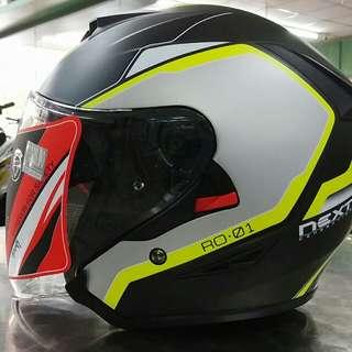 helmet xdot double visor
