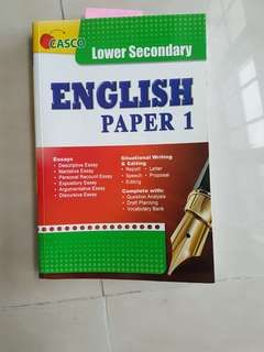 Lower Sec English Paper 1, Casco