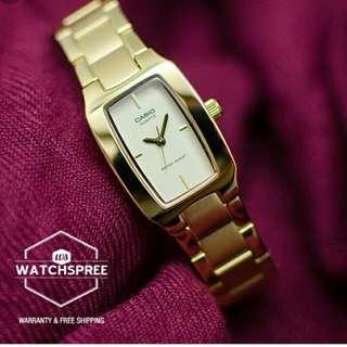 💅💅💅6折全新行貨卡西歐防水女裝行針鋼錶-40% Off Brand New Original Casio Ladies Water Resistance Analog Metal Watch