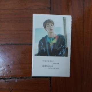bts mini postcards
