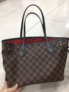 LV Neverfull PM - 100% Authentic  (95% new)