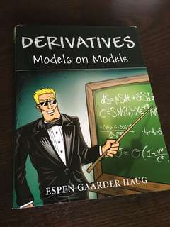 Derivatives models on models - espen haug