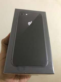 Brand New iPhone 8 64g black - sealed