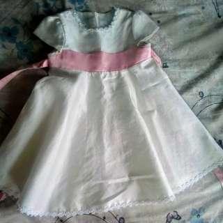 toddler dress(off white)