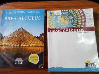 Pre calculus and calculus for gr 11 and 12 stem