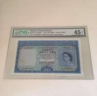 21st March 1953 Queen E $50