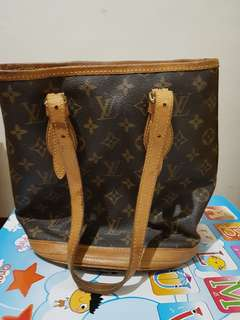 Authentic LV bucket