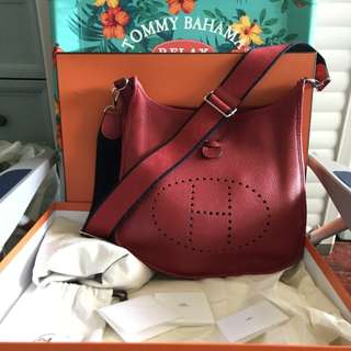 Authentic Hermes Evelyne 3 GM