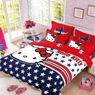 Hello Kitty Bed Sheet