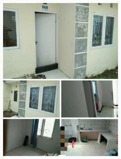Dikontrakkan Rumah 2 kamar tidur 1 kamar mandi + dapur