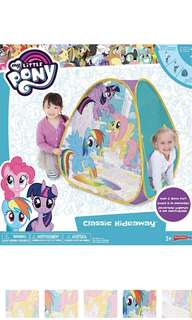 [Juniorcloset PREORDER] 🆕 Playhut My little pony classic hideaway tent Pony tent