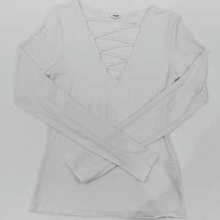 Cross Front Long Sleeve