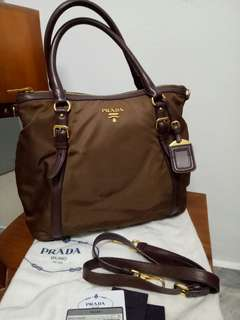 Prada Nylon Tote (Authentic) is SELLING CHEAPYLY at RM1,750