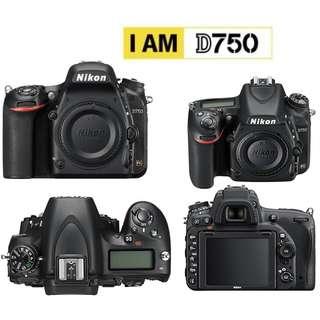 NIKON D750 Body Full Frame DSLR Camera