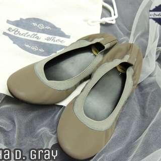 Ardella Gray Ballet Flats