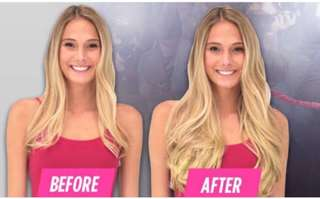 Secret Hair Extensions (Blonde)