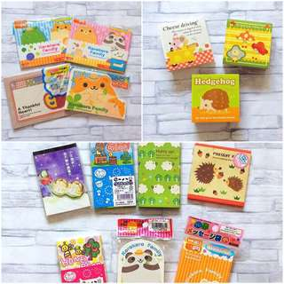 ALL for $8 Cute papers bundle | Notebook and envelope bundle | Cute notebook | Kids notebook | Small book