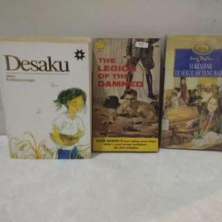 Novel & books