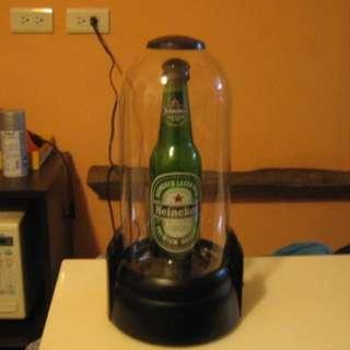🚚 Heineken 海尼根 閃電瓶 吧檯燈 氣氛燈 等離子球 酒吧燈