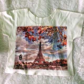 Tops: TH05 Paris Crop Top