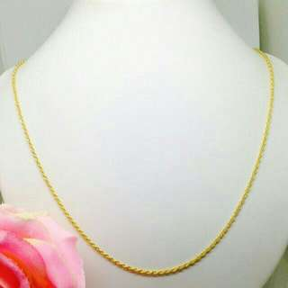 916 Gold Necklace PO