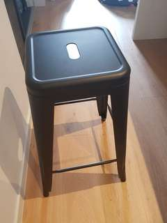 Black matte stool (4 available)