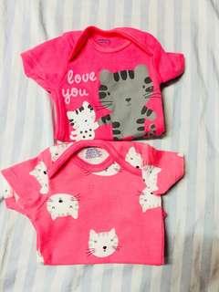 Pink Newborn Onesie