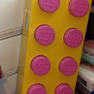 Lego storage box 八格 大size 儲物箱