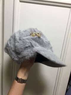 🚚 灰色貴氣帽