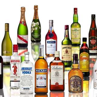 Liquor for sales