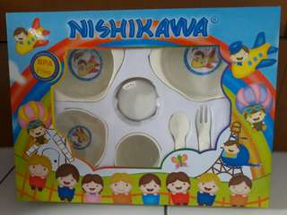 Nishikawa Feeding Set (Peralatan Makan Bayi)