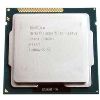 (二手)90%NEW Intel® Xeon® Processor E3-1230 v2