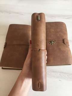 Traveller notebook, 4 booklets, plastic holders