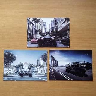 NS50 Light Strike Vehicle MkII postcards