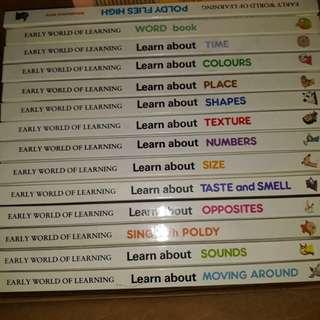 Set educational book 14 pcs