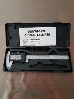 "BN 6"" Digital Sliding Caliper Hardened Stainless Steel"