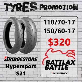 Bridgestone Battlax Hypersport S21 Promotion