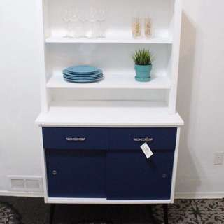 ONE OF A KIND MID CENTURY MODERN HUTCH