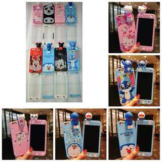 Boneka 3D Case + Tempered Glass
