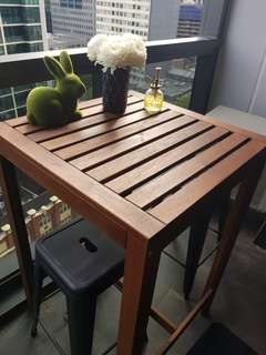 High table great for outdoors