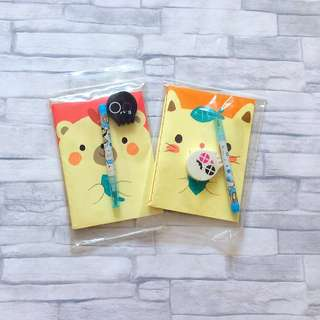 2 for $1.50 Notebook set | Primary school kids notebook | Cute notebook set | stationery set