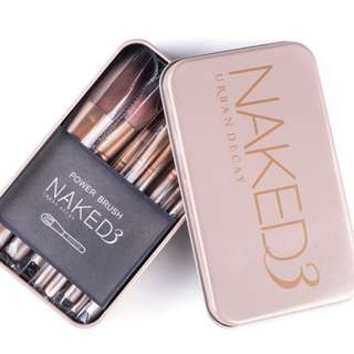 Naked 3 Makeup Brush Kit