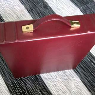 Briefcase leather album(400 pics)