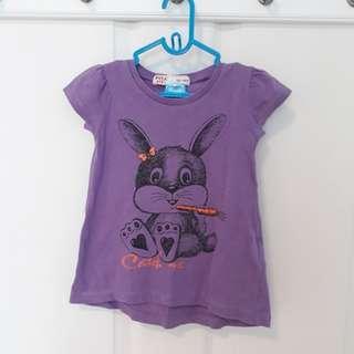 🆓️FOC 3T Fox Purple Tshirt