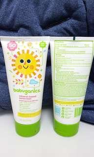 Babyganics Mineral Based Sunscreen SPF 50 UVA+ UVB