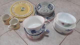 Quality bowl n plate from Takashimaya