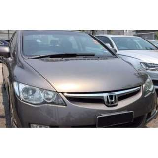 Honda Civic for Rent (Available from 25 June)