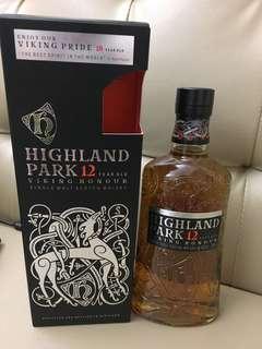 蘇格蘭Highland Park 12 Years Whisky威士忌