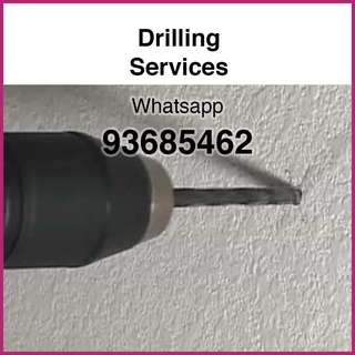 Drilling to be done