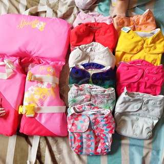 Life Vest and Cloth Diapers
